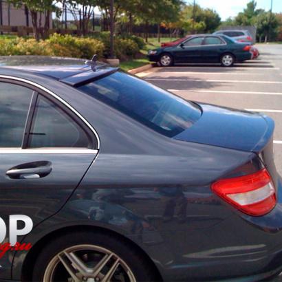 Козырек на заднее стекло на Mercedes C-Class W204