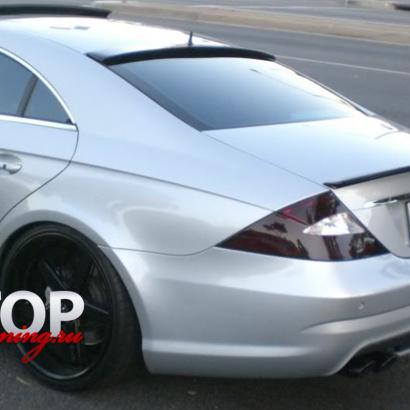 Козырек на заднее стекло на Mercedes CLS W219