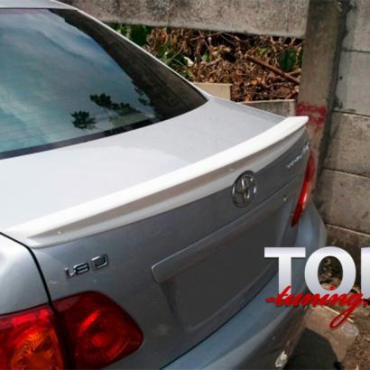 Спойлер на Toyota Corolla E150
