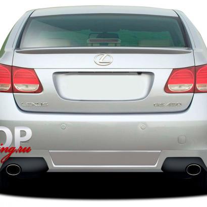 Лип-спойлер на Lexus GS 3