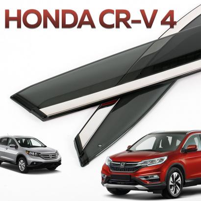 Ветровики на окна на Honda CR-V 4