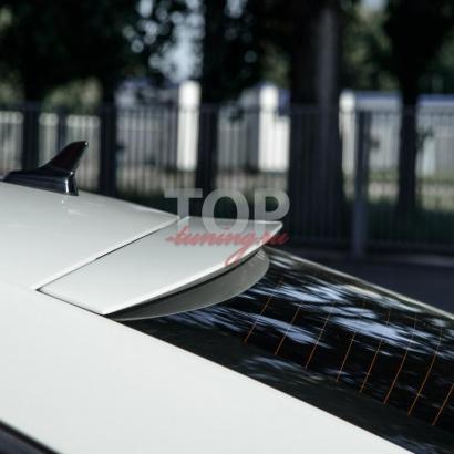Козырек на заднее стекло на Skoda Octavia 3