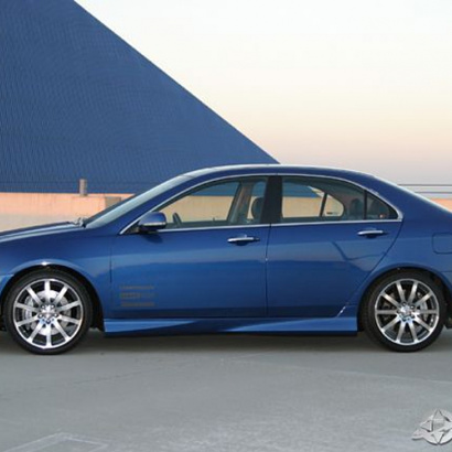 Пороги - Обвес на Honda Accord 7
