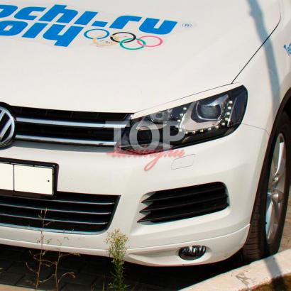 Реснички на VW Touareg II