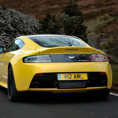 Задний бампер - Обвес на Aston Martin Vantage Coupe