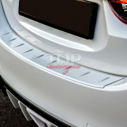 Протектор заднего бампера на Mazda 6 GJ