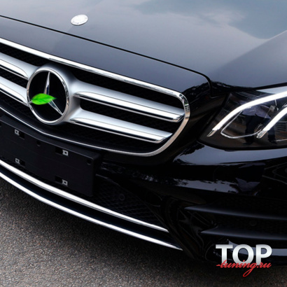Молдинг переднего бампера на Mercedes E-Class W213