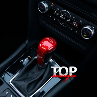 Молдинг на ручку КПП на Mazda CX-5 2 поколение