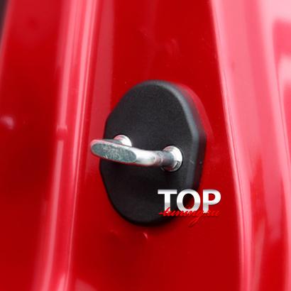 Пластиковые заглушки на скобы дверей на Mazda CX-5 2 поколение