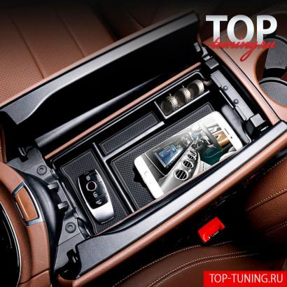 Органайзер в подлокотник и двери  на Mercedes E-Class W213
