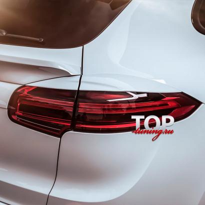 Реснички на задние фонари на Porsche Cayenne 958