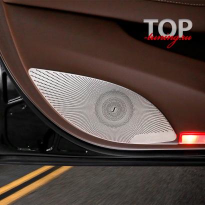 Накладки на двери Burmester на Mercedes E-Class W213