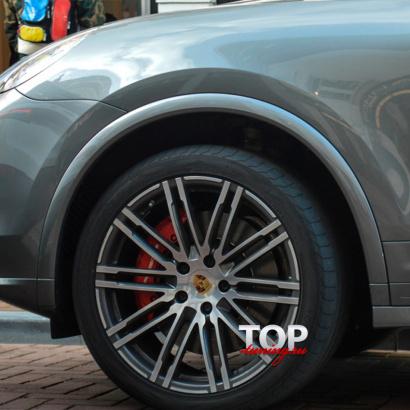 Расширители арок на Porsche Cayenne 958