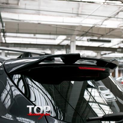 Спойлер на крышку багажника на Kia Ceed 2