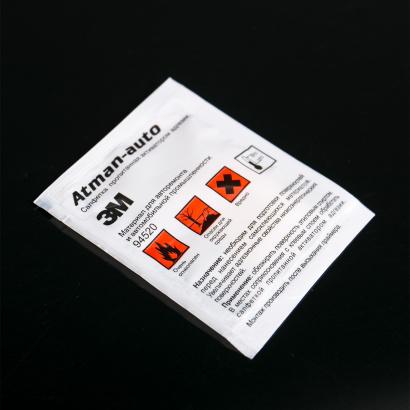 Праймер - салфетка 3М для двухстороннего скотча на Универсальные