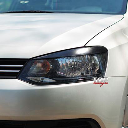 Реснички на VW Polo 5