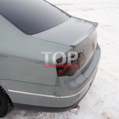 Лип-спойлер  на VW Passat B6