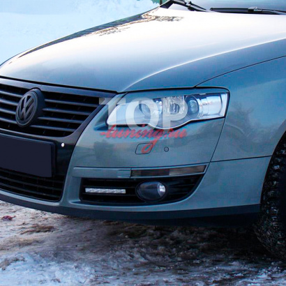 Реснички на VW Passat B6