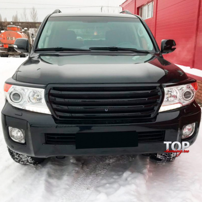 Решетка радиатора на Toyota Land Cruiser 200