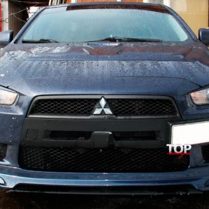 Ноздри в стиле  EVO (ДОРЕСТАЙЛИНГ) на Mitsubishi Lancer 10 (X)