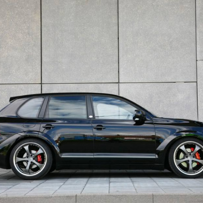 К-т расширения кузова - Обвес на Porsche Cayenne 957