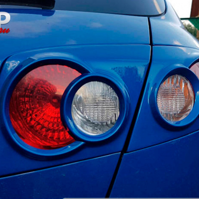 Реснички на задние фонари на Chevrolet Lacetti