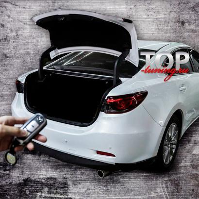 Система автоматического открытия багажника  на Mazda 6 GJ