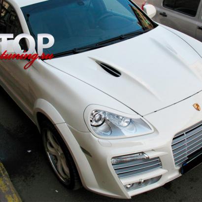 Реснички на Porsche Cayenne 957