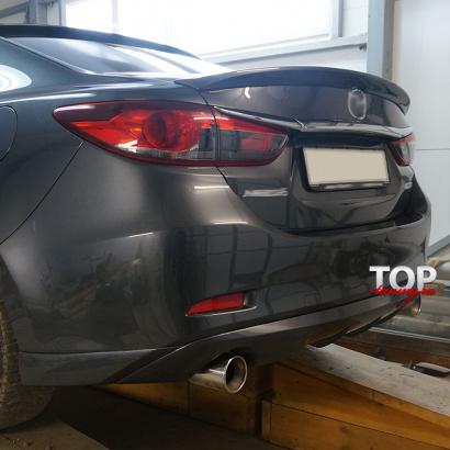 Спойлер на Mazda 6 GJ