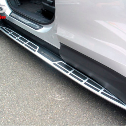 Пороги ступени на Hyundai Santa Fe 3 (DM)