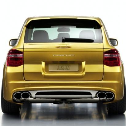 Накладка на багажник - Обвес на Porsche Cayenne 957
