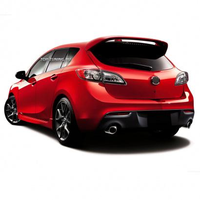 Спойлер на Mazda 3 BL