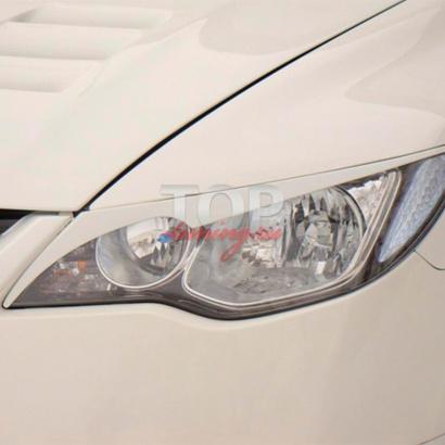 Реснички на Honda Civic 4D (8)