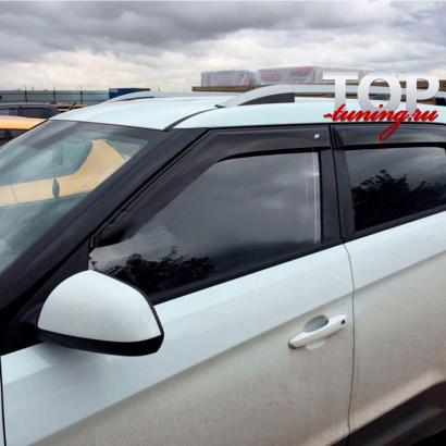 Дефлекторы на окна на Hyundai Creta
