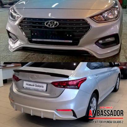 Тюнинг обвес Abassador на Hyundai Solaris