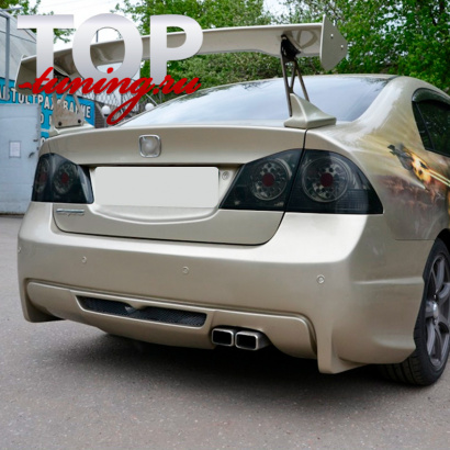 Задний бампер Hyper Race на Honda Civic 4D (8)