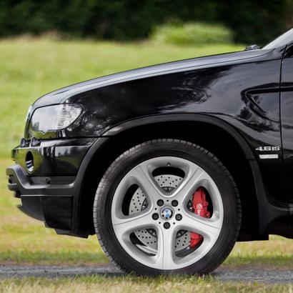 Расширители арок 4.6 IS Окрашенные на BMW X5 E53