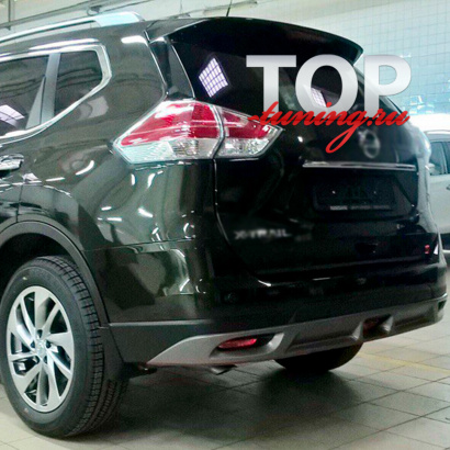 Юбка на задний бампер Ambassador на Nissan X-Trail T32