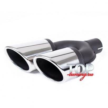 Двойная насадка с сильным наклоном REVOLT Sport 100, 90, 80 mm x2
