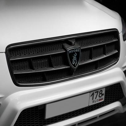 Решетка радиатора Moose Carbon на Volvo XC90 II
