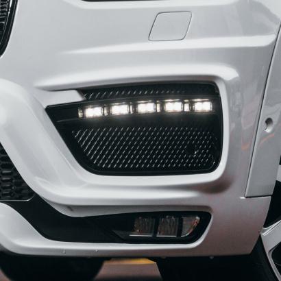 Маски для ходовых огней на Volvo XC90 II