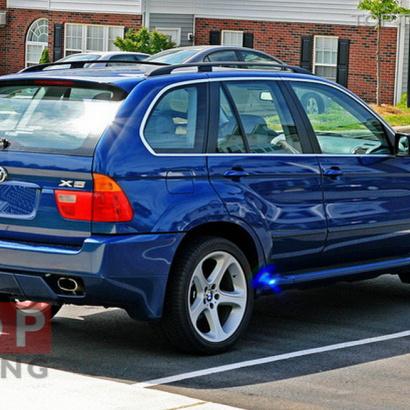 Задний бампер - Обвес на BMW X5 E53
