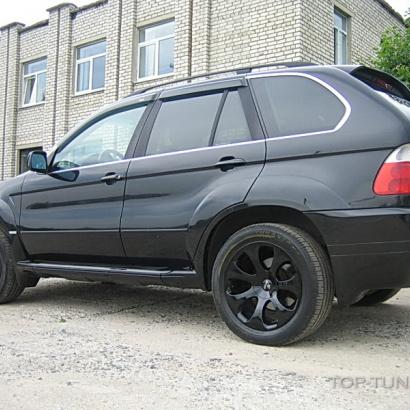Пороги - Обвес на BMW X5 E53