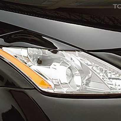 Реснички на передние фары на Nissan Murano 1 (Z50)