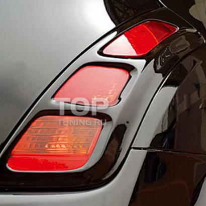 Реснички зад. - Обвес  на Nissan Murano 1 (Z50)