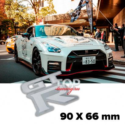 Шильдик эмблема GT-R 90 x 60 mm