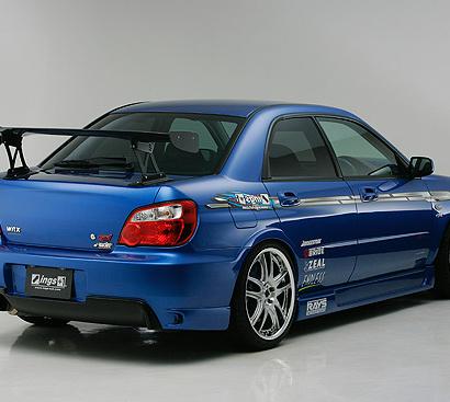 Задний бампер  на Subaru Impreza WRX GD