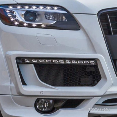 Молдинги ДХО на Audi Q7
