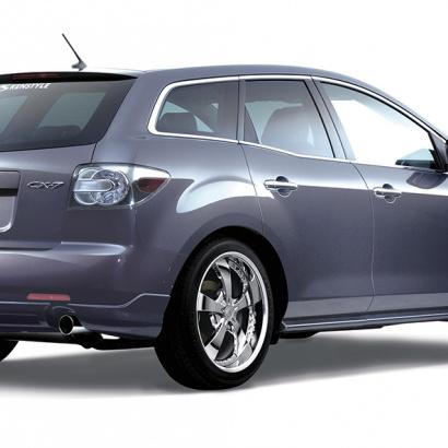 Задняя накладка - Обвес на Mazda CX-7