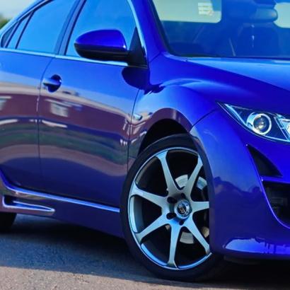 Пороги - Обвес на Mazda 6 GH